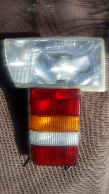 Imagen Faro delantero y luces traseras