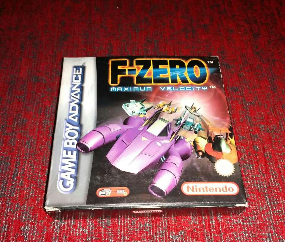 Imagen F-Zero maximum velocity, game boy advance