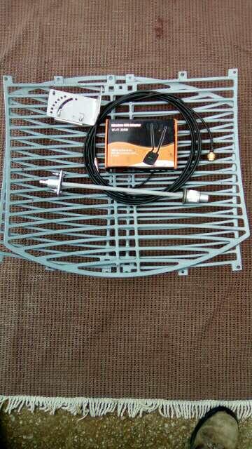 Imagen producto Antena parabolica WIFI  2