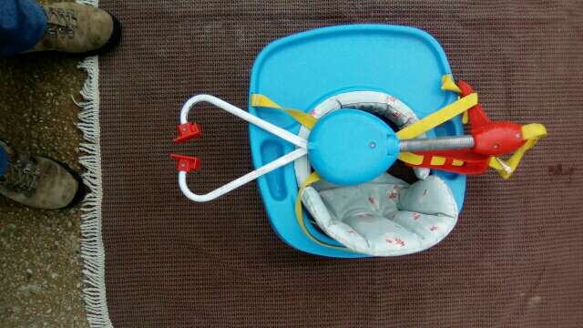 Imagen producto Columpio infantil con muelle 2