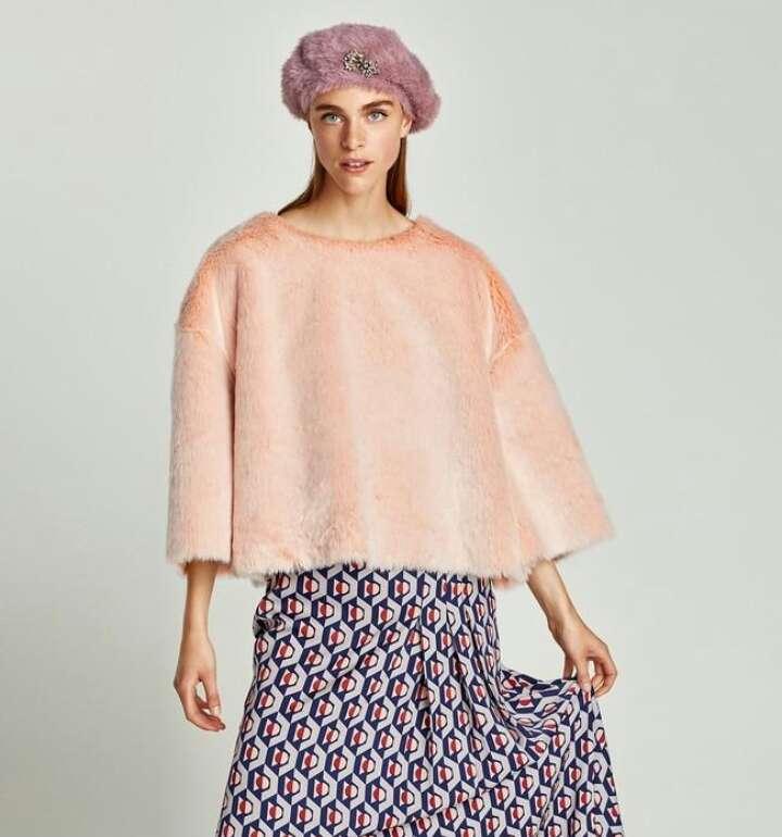 Imagen Jersey pelo Zara nuevo