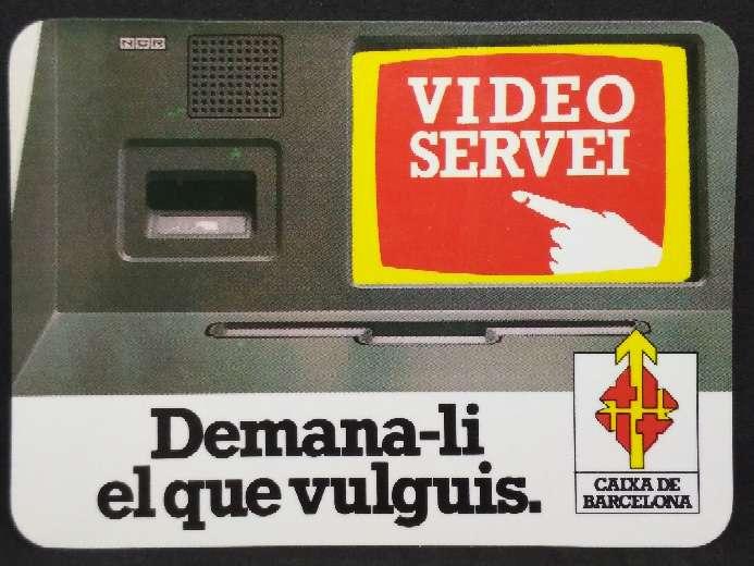 Imagen Calendario de la Caixa de Barcelona de 1988