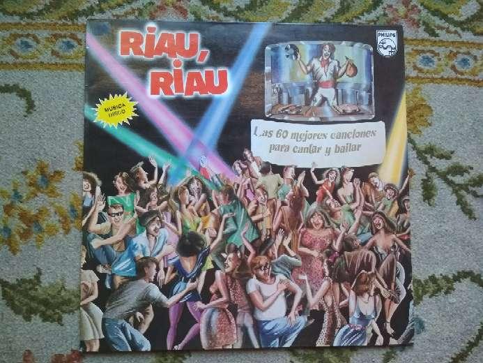 Imagen vinilo Riau-riau las 60 mejores canciones para cantar y bailar