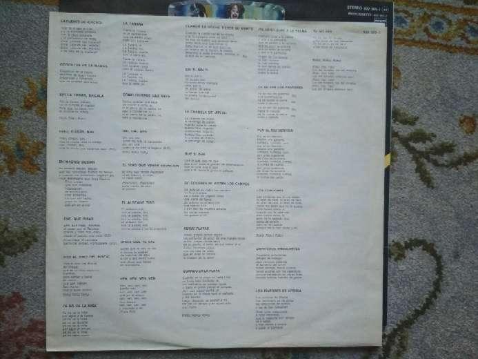 Imagen producto Vinilo Riau-riau las 60 mejores canciones para cantar y bailar 4