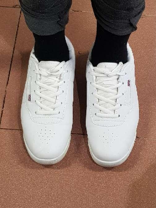 Imagen producto Zapatillas deportivas nuevas en blanco  4