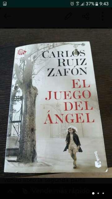 Imagen libro el juego del angel