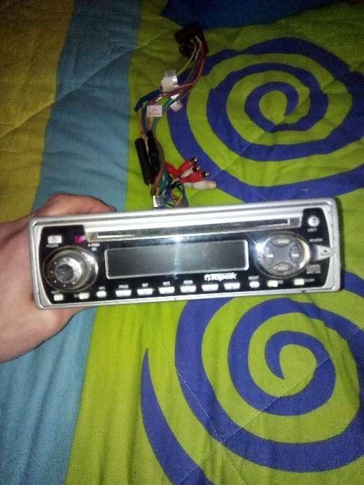 Imagen radio CD de coche