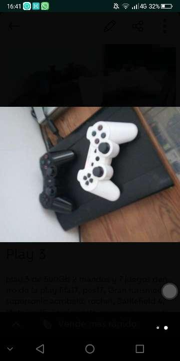 Imagen producto Play 3 + juegos 3