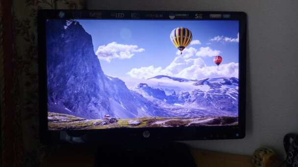 Imagen Monitor HP LED