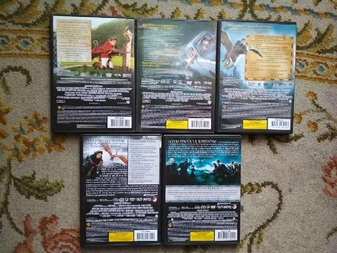 Imagen producto 5 películas en DVD Harry Potter todas por 10 € 4