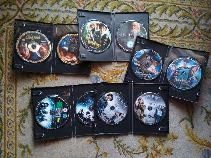 Imagen producto 5 películas en DVD Harry Potter todas por 10 € 2