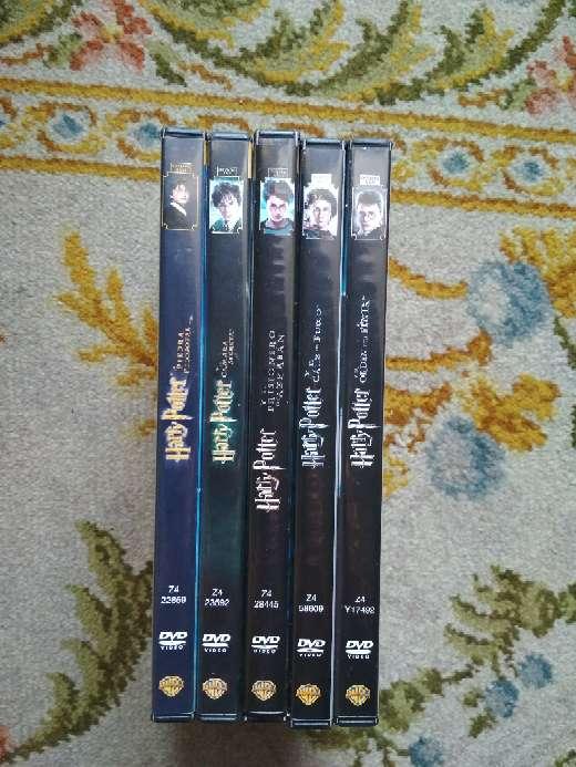 Imagen producto 5 películas en DVD Harry Potter todas por 10 € 3