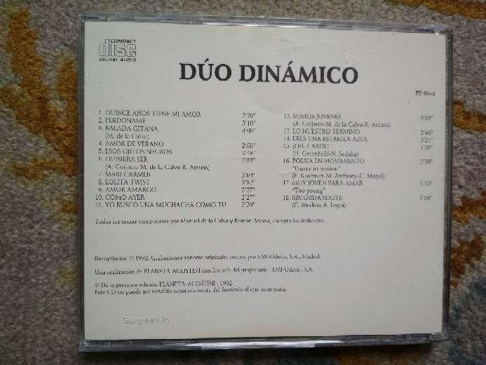 Imagen producto CD Dúo Dinámico 18 grandes éxitos 4