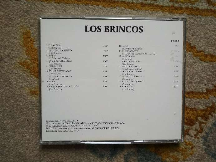 Imagen producto CD Los Brincos, dieciocho de sus grandes éxitos 4