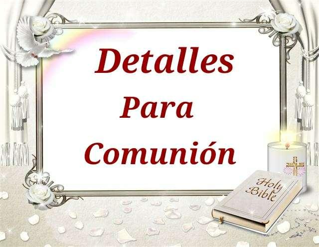 Imagen producto Para Comuniones 1