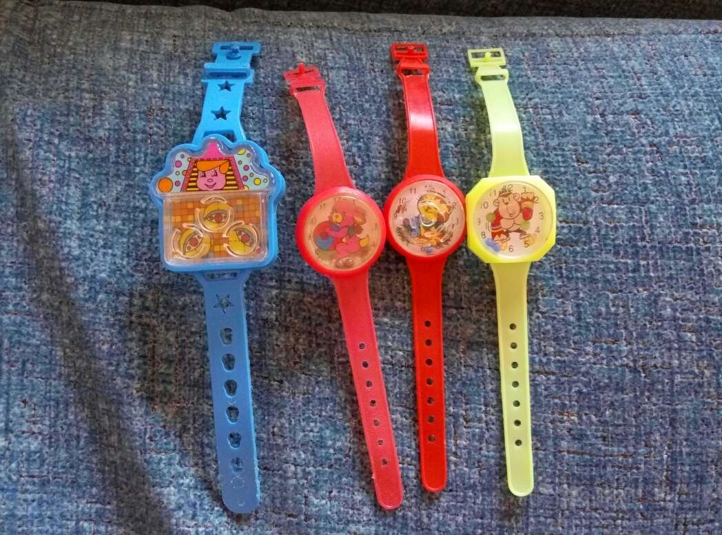 Imagen producto Relojes juguete bolitas 1