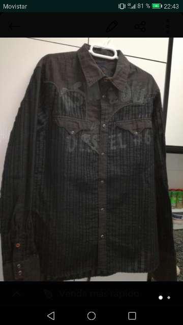 Imagen camisa diésel hombre