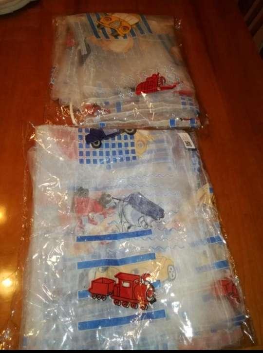Imagen producto Lote de cortinas infantil sin estrenar 2