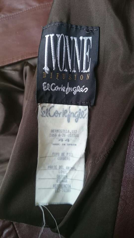 Imagen producto Chaquetón piel Vintage  2
