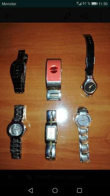 Imagen lote de relojes pulsera mujer