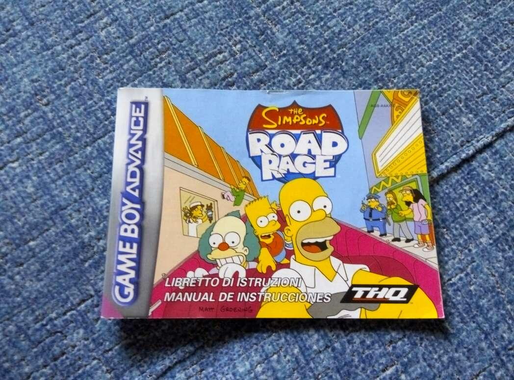 Imagen Instrucciones juego Simpson