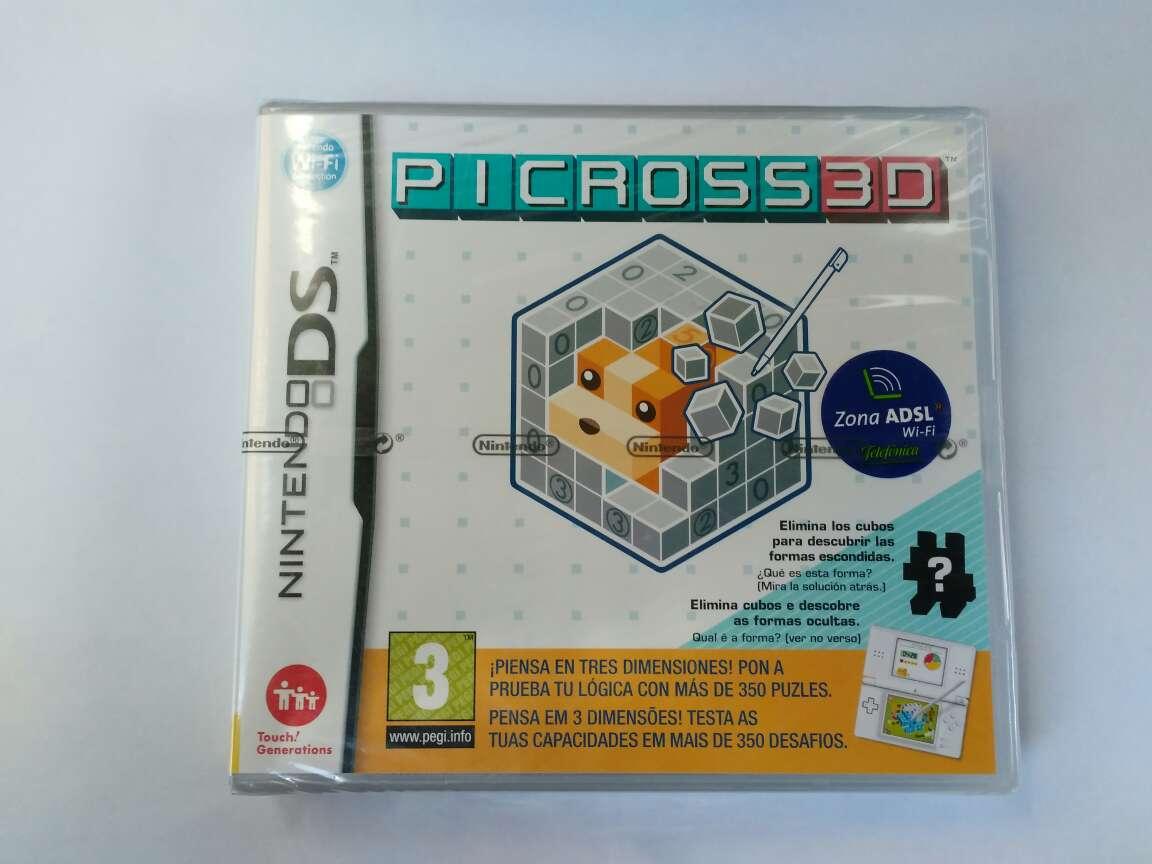 Imagen Picross 3d, precintado