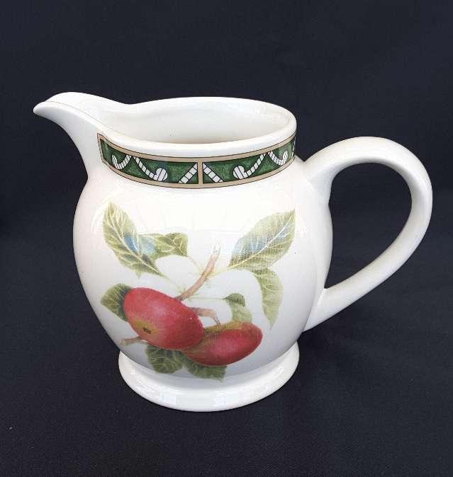 Imagen producto Jarra, azucarero y taza de cerámica inglesa  4