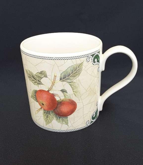 Imagen producto Jarra, azucarero y taza de cerámica inglesa  3