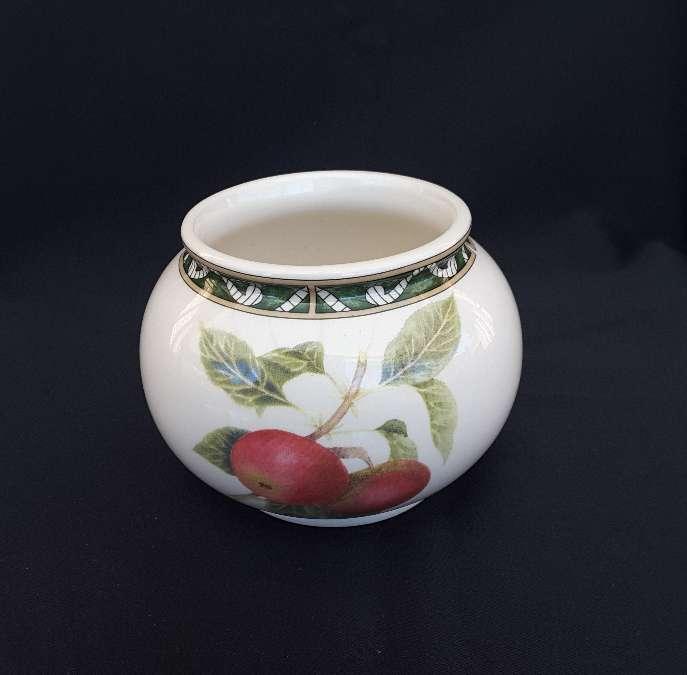Imagen producto Jarra, azucarero y taza de cerámica inglesa  2