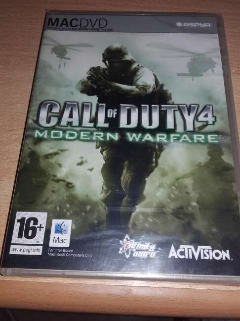 Imagen Call of duty 4 : modern warfare ( mac )