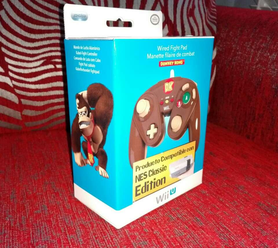 Imagen Mando classic pro, donkey Kong, nuevo