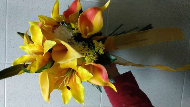 Imagen ramo amarillo