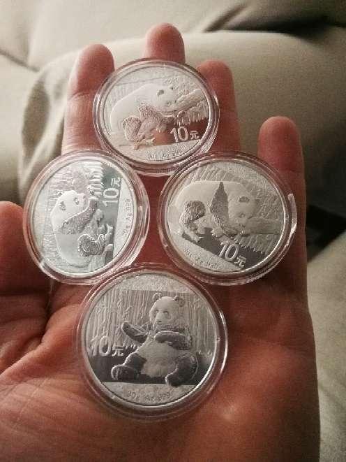 Imagen producto Monedas de Plata 1 onza  8