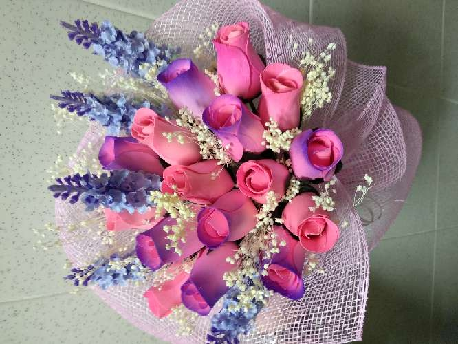 Imagen ramo de rosas