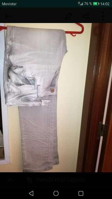 Imagen pantalón tejano mujer