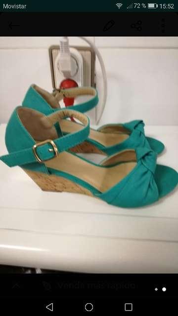 Imagen producto Zapatos de cuña mujer 2