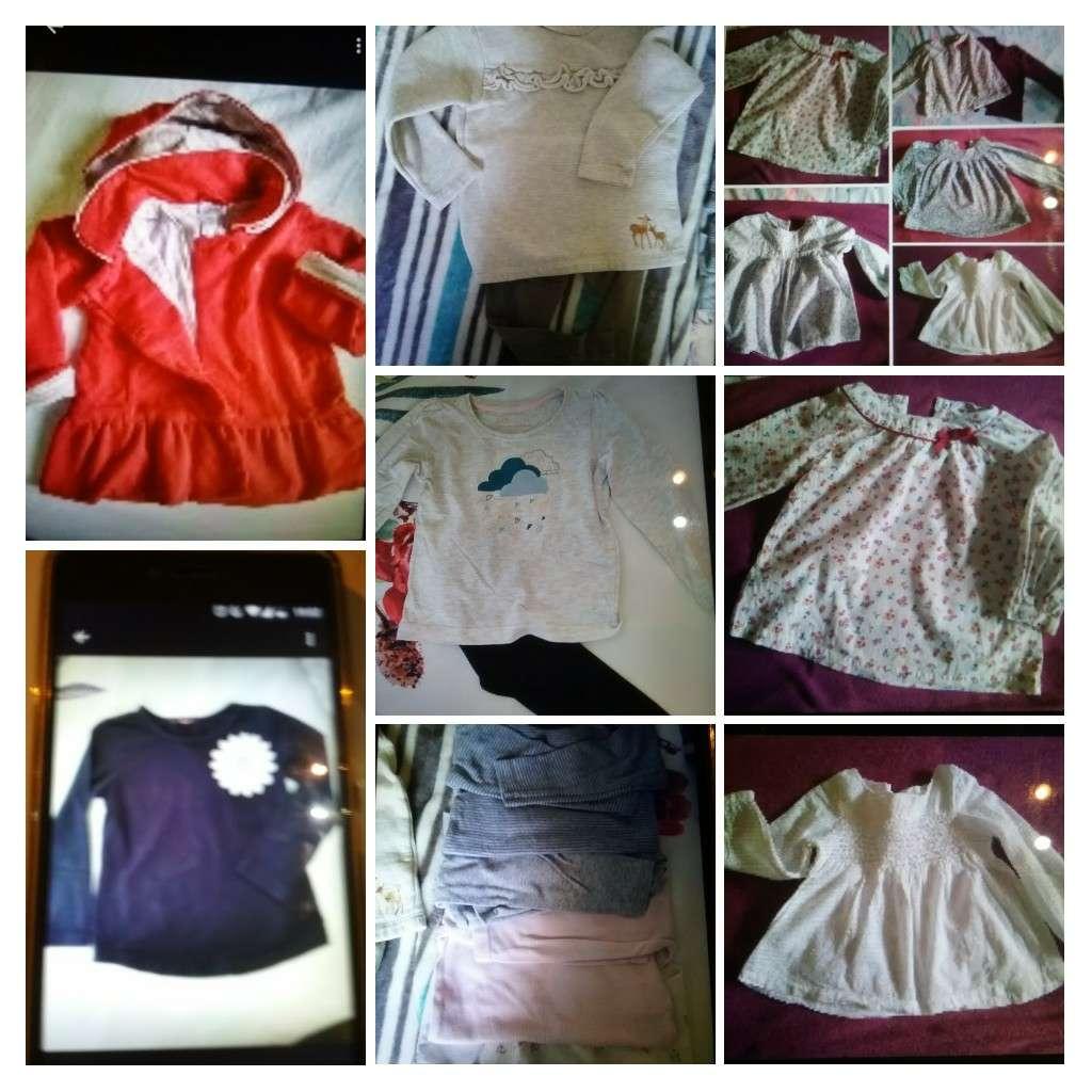 Imagen ropa niña desde 1 , camisas 2,5