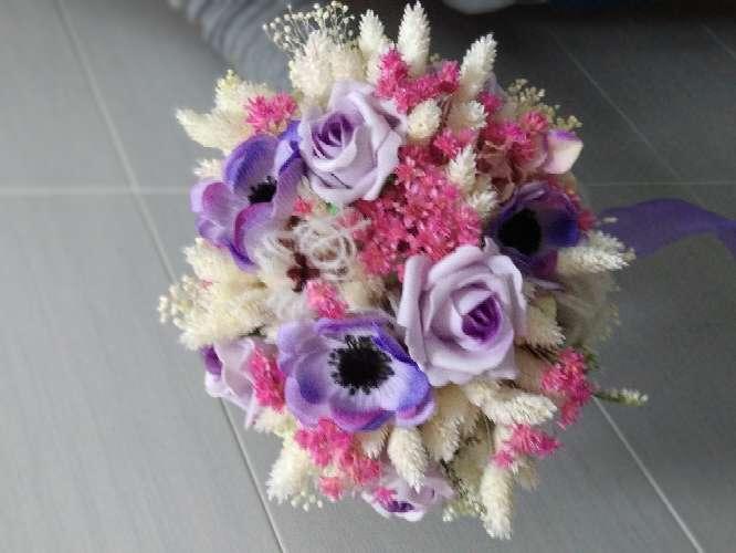 Imagen ramo de novia flor seca.