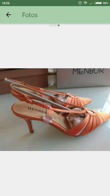 Imagen producto Zapatos MENBUR T. 38 - 39 a estrenar 3