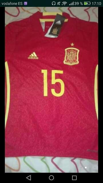Imagen producto Camiseta seleccion Española 4