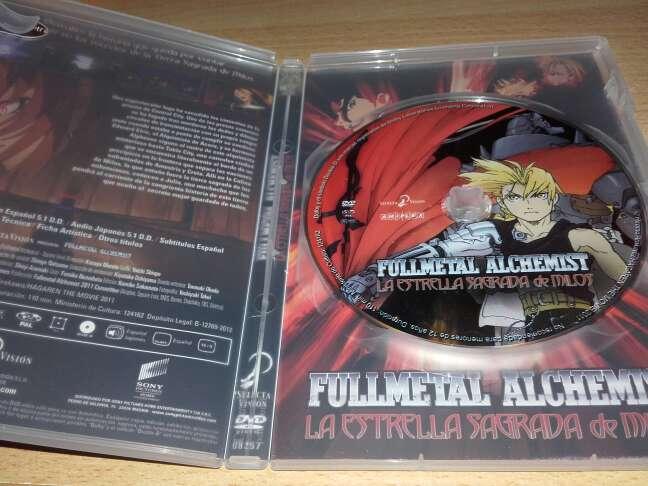 Imagen producto Fullmetal alchemist : la estrella sagrada de milos. 3