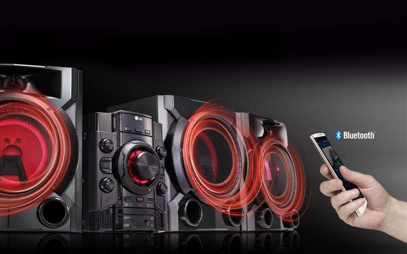 Imagen minicomponente lg 5760 potencia 13.200 wats