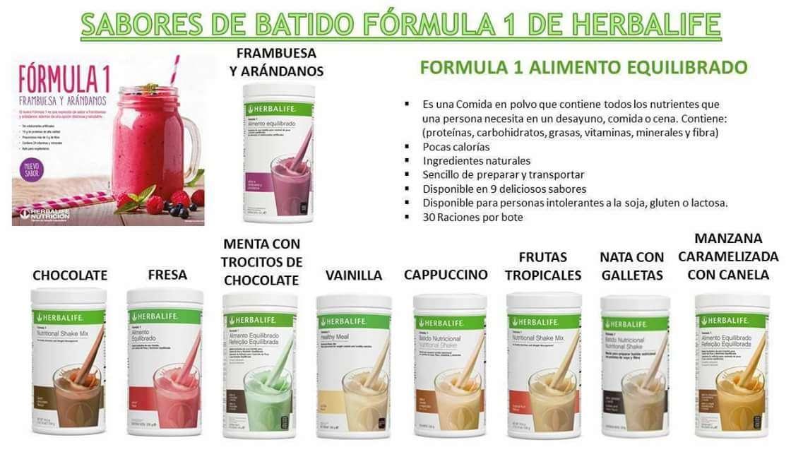 Imagen Herbalife batidos