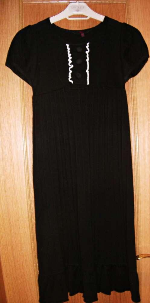 Imagen Vestido negro de punto