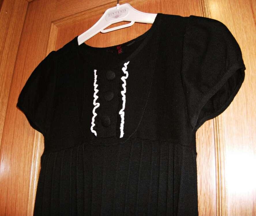 Imagen producto Vestido negro de punto  3