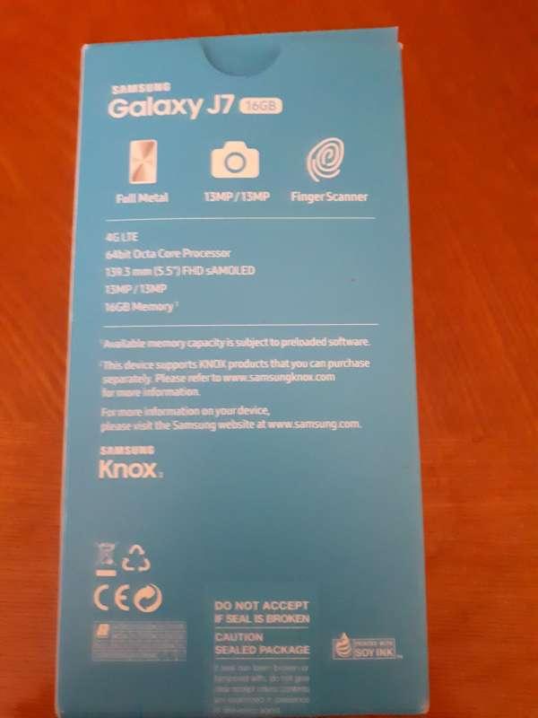 Imagen producto Samsung galaxy J7 2017 4