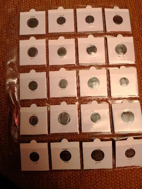 Imagen Coleccion de monedas antiguas, desde el siglo uno asta hoy