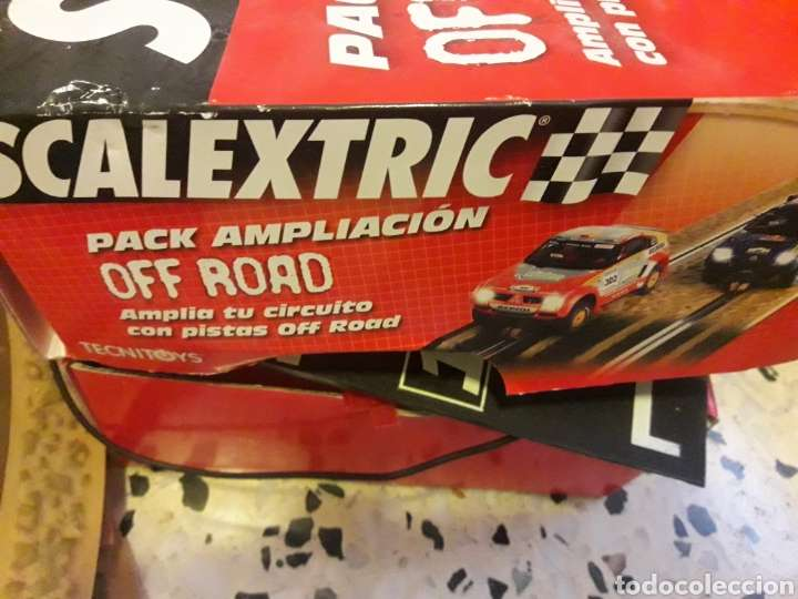 Imagen scalextric + mas pack espansion off road