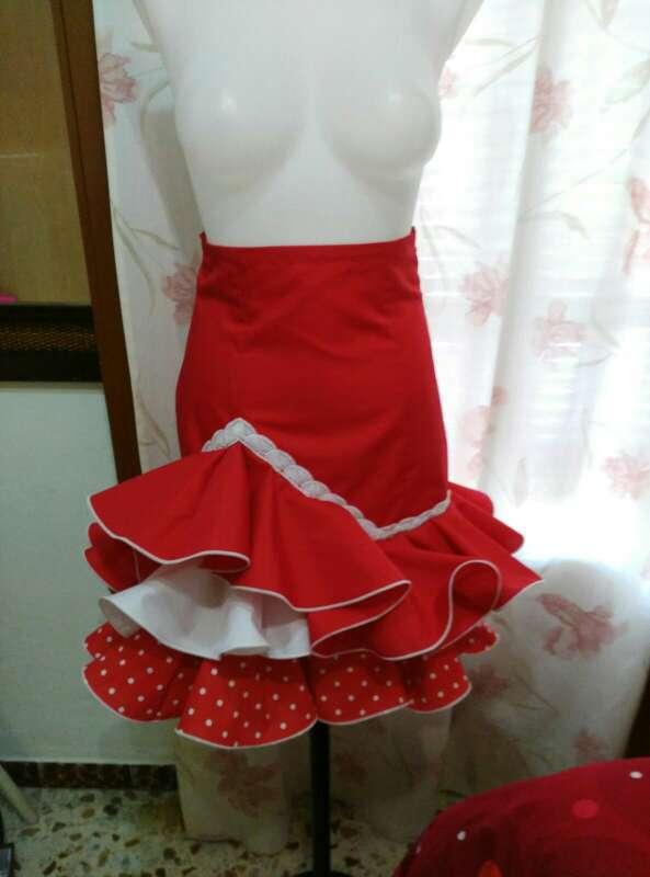 Imagen Faldas cortas flamencas