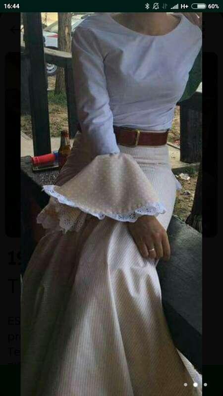 Imagen Conjunto faldas/ camisas rocieras